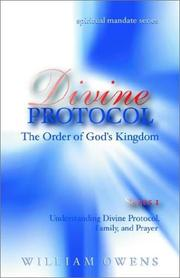 Cover of: Divine Protocol Series I