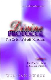 Cover of: Divine Protocol  - The Body of Christ & Divine Worship Series II