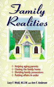 Cover of: Family realities | Lucy F. Wold