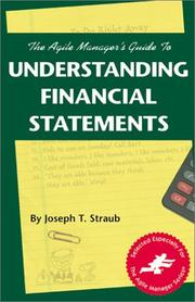 Cover of: The agile manager's guide to understanding financial statements