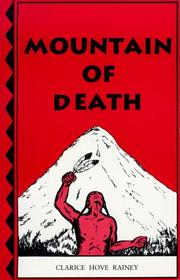 Cover of: Mountain of Death | Clarice Hove Rainey