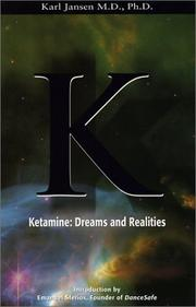Cover of: Ketamine