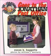 Cover of: Jonathan goes to the post office | Susan K. Baggette