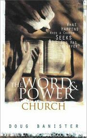 Cover of: The word and power church