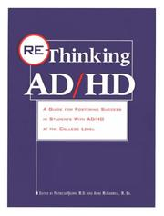 Cover of: Re-thinking AD/HD |