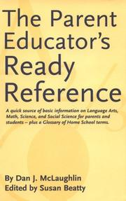 Cover of: The Parent Educator