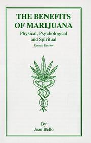 Cover of: The Benefits of Marijuana