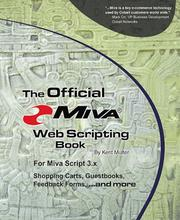 Cover of: The official MIVA web-scripting book