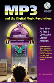 Cover of: MP3 and the digital music revolution