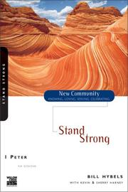 Cover of: Stand Strong: 1 Peter [paperback]