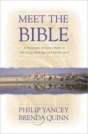 Cover of: Meet the Bible: a panorama of God's Word in 366 daily readings and reflections