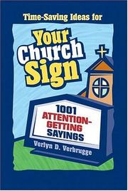 Cover of: Your Church Sign | Dr. Verlyn Verbrugge