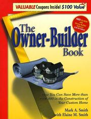 Cover of: The owner-builder book | Mark A. Smith