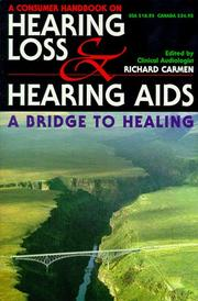 Cover of: Consumer Handbook on Hearing Loss and Hearing Aids | Richard Carmen