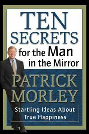 Cover of: Ten Secrets for the Man in the Mirror