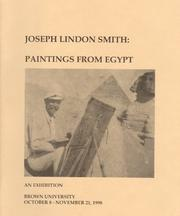 Cover of: Joseph Lindon Smith