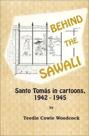 Cover of: Behind the Sawali  | Teedie Cowie Woodcock