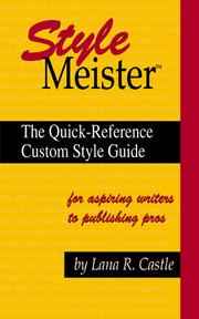 Style meister by Lana R. Castle
