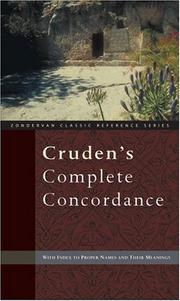 Cover of: Cruden's Complete Concordance