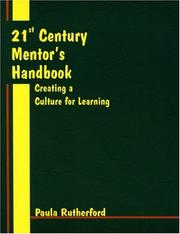 Cover of: 21st century mentor