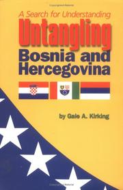 Cover of: Untangling Bosnia and Hercegovina