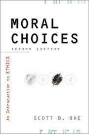 Cover of: Moral choices