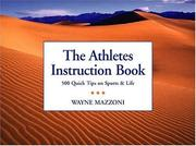 Cover of: The Athlete's Instruction Book