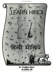 Cover of: Learn Hindi =