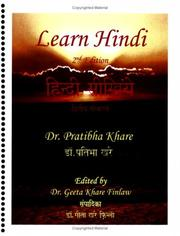 Cover of: Learn Hindi