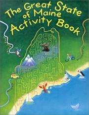 Cover of: Great State of Maine Activity Book | Jane Petrlik Smolik