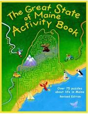 Cover of: The Great State of Maine Activity Book | Jane Petrlik Smolik