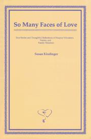 Cover of: So many faces of love
