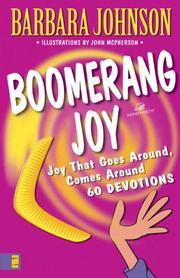 Cover of: Boomerang joy