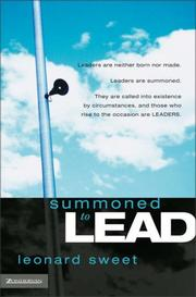 Cover of: Summoned to Lead