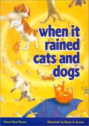 Cover of: When it rained cats and dogs