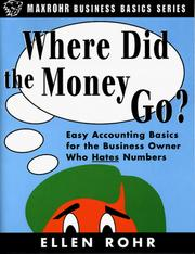 Cover of: Where Did the Money Go?