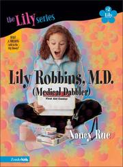 Cover of: Lily Robbins, M.D. (medical dabbler)