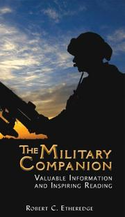 Cover of: The Military Companion | Robert C. Etheredge