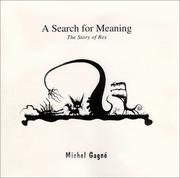 Cover of: A search for meaning | Michel GagnГ©