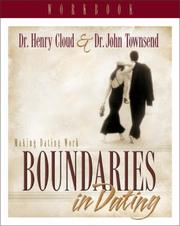 Cover of: Boundaries in dating
