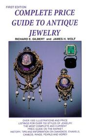 Cover of: Complete price guide to antique jewelry