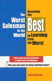Cover of: The Worst Salesman in the World | Joel Saltzman