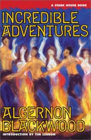Cover of: Incredible Adventures