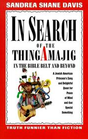 Cover of: In search of the thingamajig
