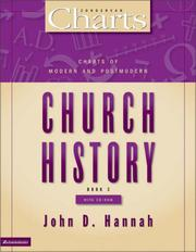 Cover of: Charts of Modern and Postmodern Church History (ZondervanCharts)