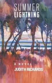 Cover of: Summer lightning | Judith Richards