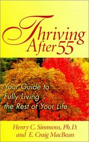 Cover of: Thriving after 55