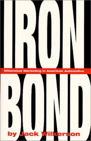 Cover of: Iron Bond  | Jack Wilkerson