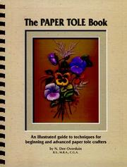 Cover of: The Paper Tole Book |