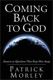 Cover of: Coming Back to God